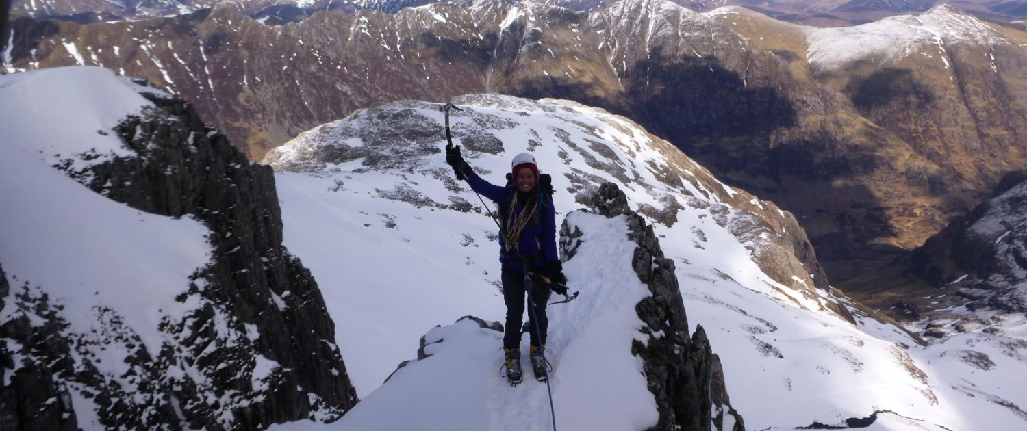 Private Mountain Guiding Scotland