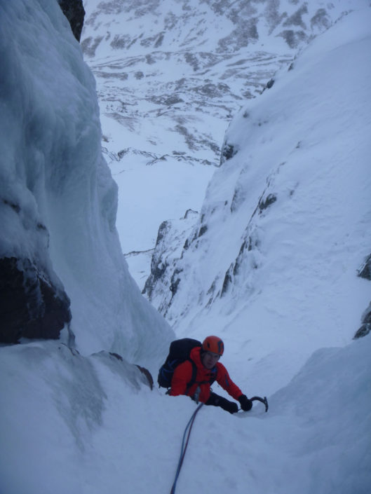 Mountain Guiding the brilliant Boomer's Requiem, Ben Nevis