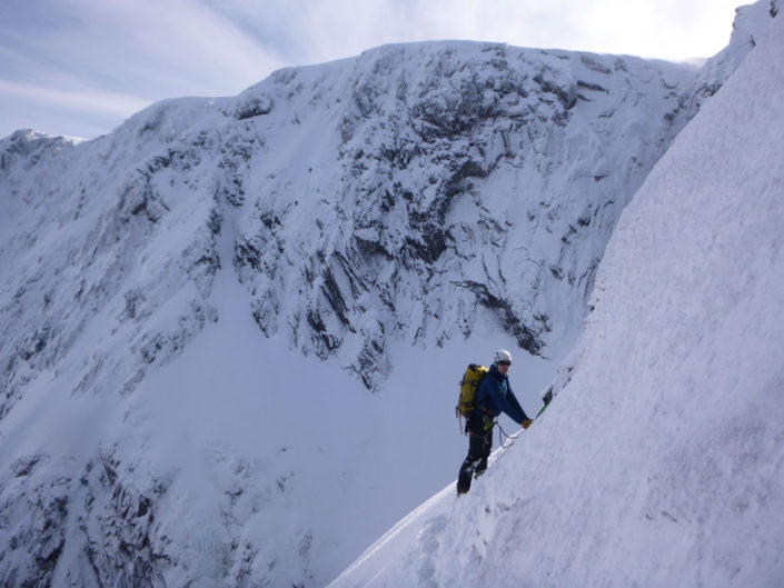 Guiding high on Ben Nevis