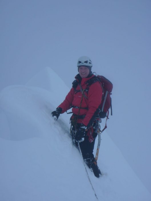 Guiding the classic Tower Ridge