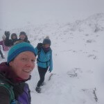 A happy team on Ben Nevis