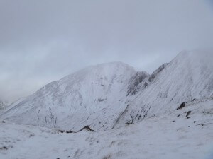 Mamores in winter