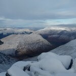Views from the summit of Sgor na h-Ulaidh