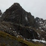 Quite bare on Carn Dearg Buttress, Ben Nevis