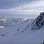 Views to the east, from Stob Coire nan Lochan