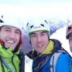 A great day of winter climbing with mates in Glencoe!