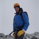 Winter Mountaineering on School House Ridge above Ballachulish