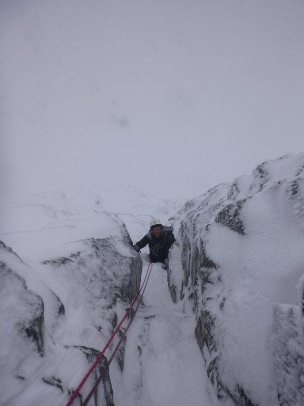 Guiding Thompson's Route on Ben Nevis