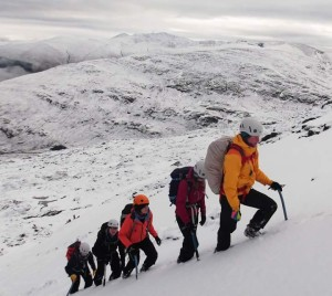 Winter journeying (photo: Scott Kirkhope)