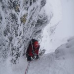 Steve on the main pitch of Comb Gully