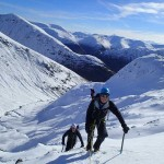 Winter mountaineering in Scotland at it's best!