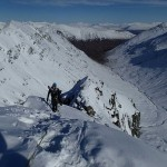 Winter Mountaineering course on Sron na Lairig in Glencoe