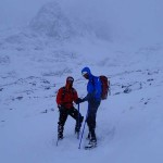 Jonny and John on Ben Nevis