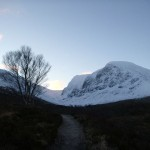 Ben Nevis this morning