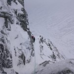 Low down on NE Buttress