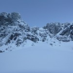 Trident Buttress area