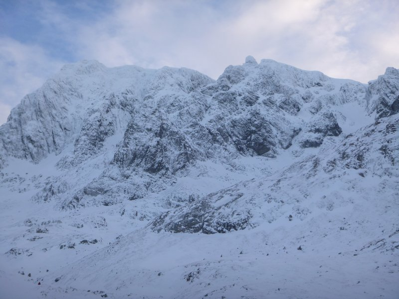 Interesting conditions on Ben Nevis today