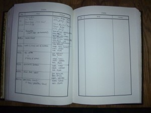 The CIC Hut Log Book