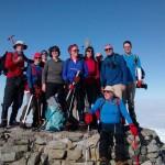 Success on the summit of Ben Nevis
