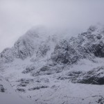 Very white on Ben Nevis this morning.