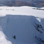 Exit slopes of No. 2 Gully, Ben Nevis