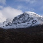 Blues skies above Ben Nevis this afternoon!
