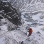 Stu guiding Tower Ridge