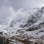 Moody afternoon above the north face of Ben Nevis