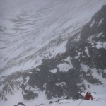 Guiding Western Rib on Aonach Mor