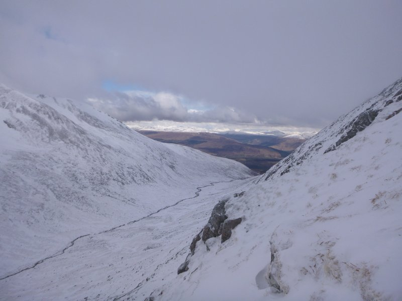 Looking north from the West Face of Aonach Mor