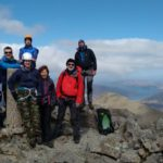 The final summit on our Skye Munros Course: Bruach na Frithe