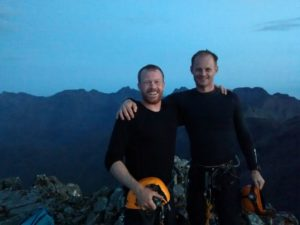 Completion of the main Cuillin Ridge Traverse