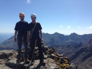 Success on the Cuillin Ridge Traverse!