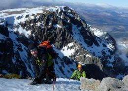 Winter Climbing Course Scotland