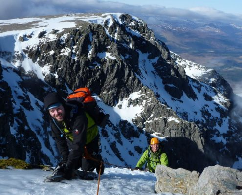 Introductory Winter Climbing Course Scotland