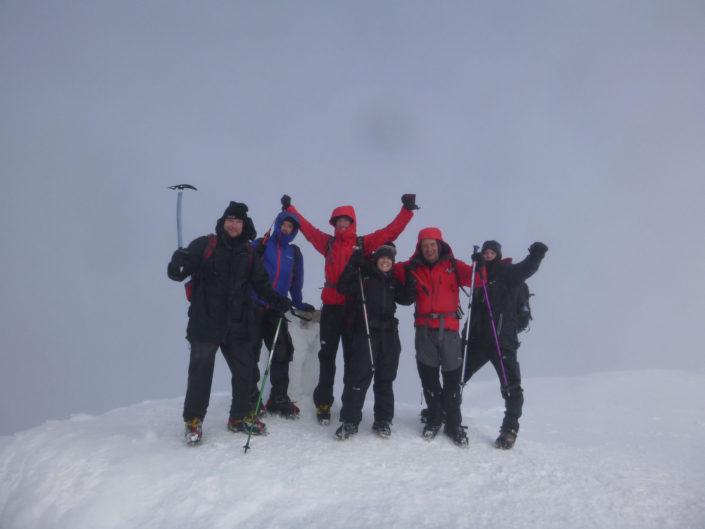 Ben Nevis Guide Winter