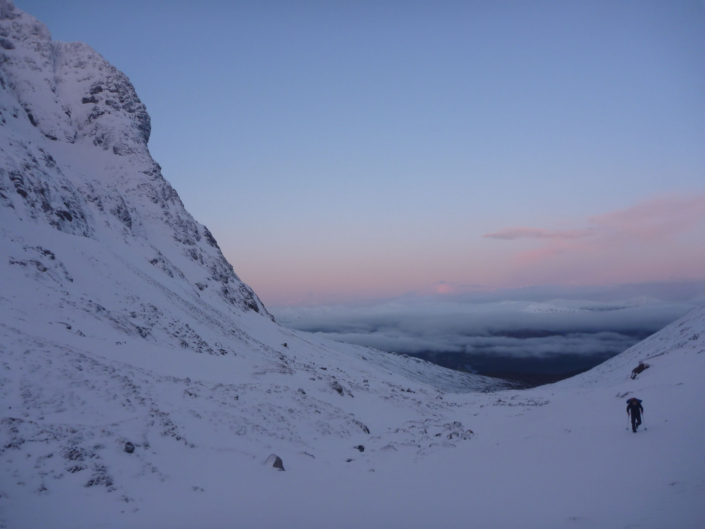 Ben Nevis, a great venue for our winter climbing courses