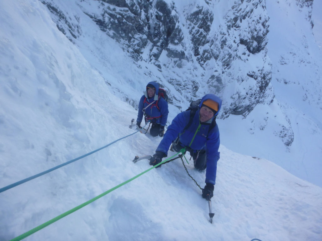 Orion Direct on our CIC Hut Week Winter Climbing Course
