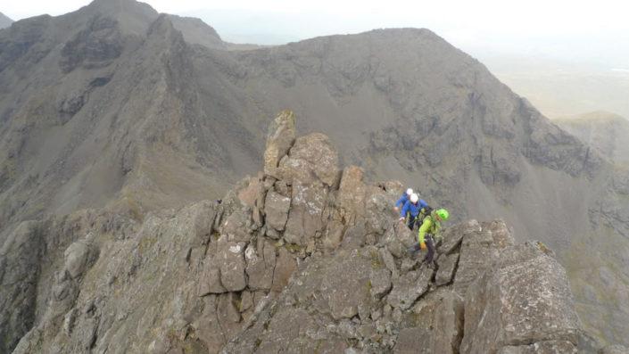 Pinnacle Ridge of Sgurr nan Gillean, Skye