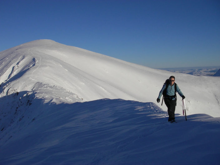 Winter Skills course in Glen Shiel