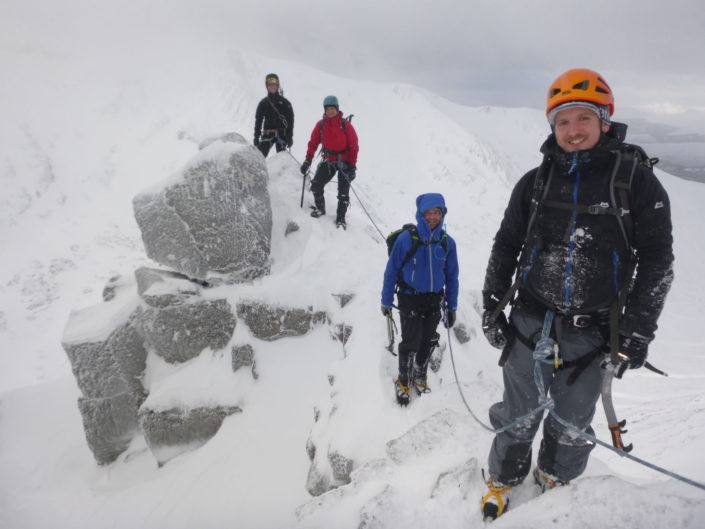 Winter Mountaineering Course Scotland