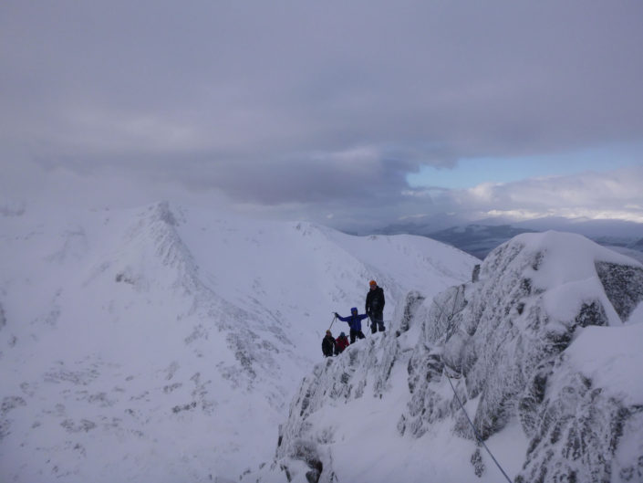 One of the best grade IIs in Scotland, Golden Oldie on Aonach Mor