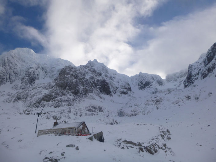 The CIC Hut on Ben Nevis