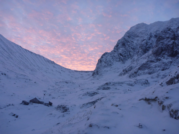 Dawn from the CIC Hut on Ben Nevis