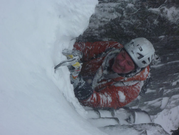 The delights of Scottish Winter Climbing