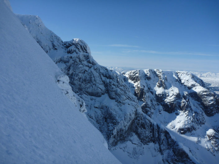 The finest winter climbing venue in the UK, Ben Nevis!