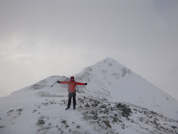 Winter Skills on Stob Dubh in Glencoe