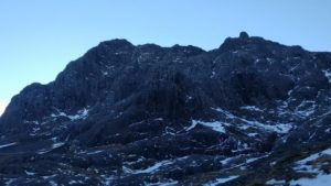 Black on the North Face of Ben Nevis