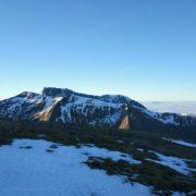 Views towards Carn Mor Dearg and Ben Nevis