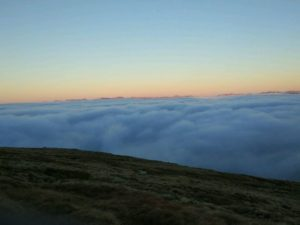 Cloud inversion in the Highlands